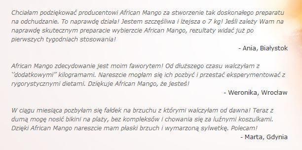 opinie o african mango 900