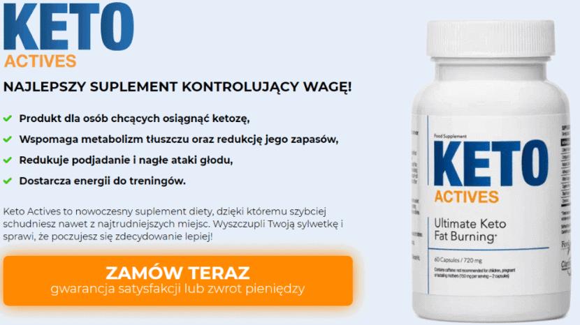 keto actives działanie efekty